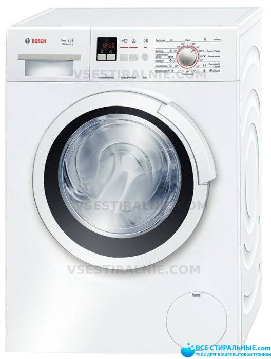 Bosch Serie 6 3D Washing WLK 20164